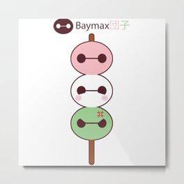 Baymax Dango Metal Print