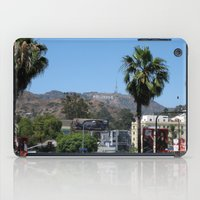hollywood iPad Cases featuring Hollywood by Elizabeth Tompkins