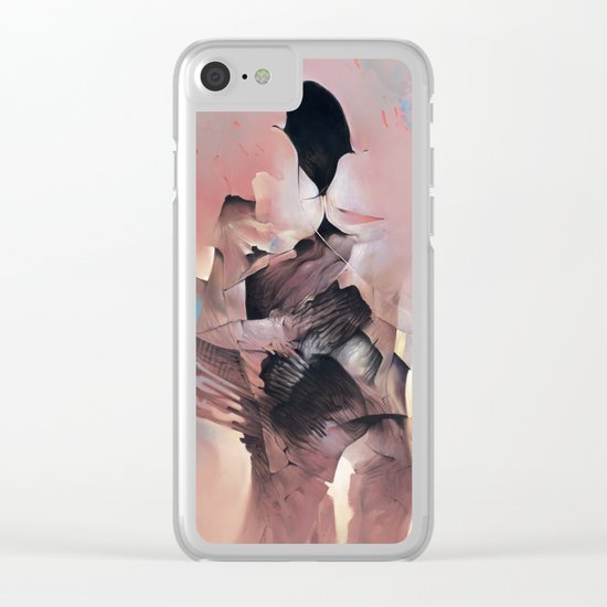 Silence Breaker Clear iPhone Case