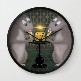 There's Always Enough to Share Wall Clock