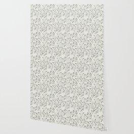 Contrast leaf art Wallpaper