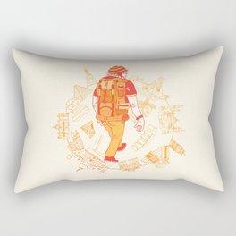 The Traveler Rectangular Pillow