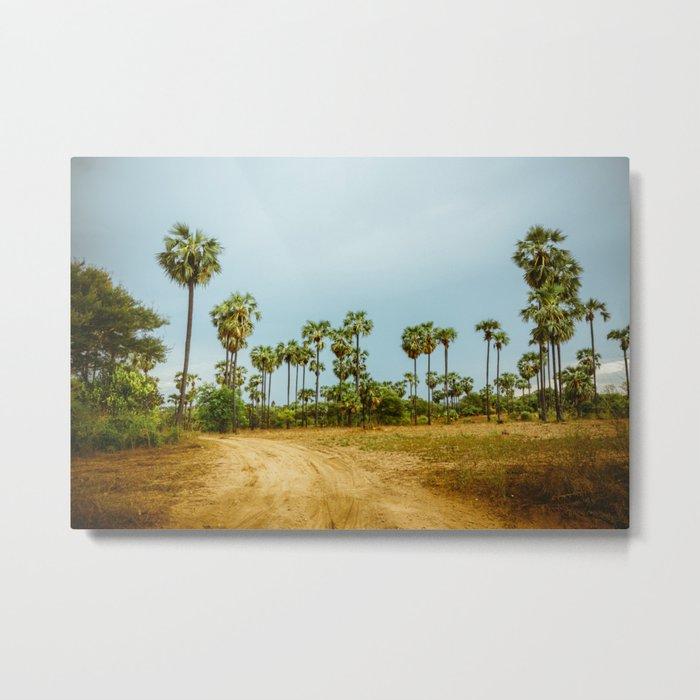 Burma's Country Roads I Metal Print