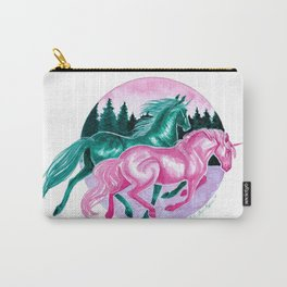Winter Unicorns Carry-All Pouch
