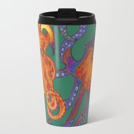 Two Octopodes Travel Mug