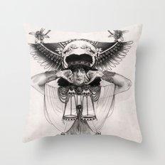 L I B R A  Throw Pillow