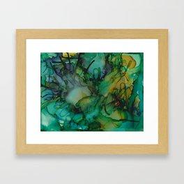Life Underwater Framed Art Print