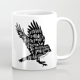Other People's Futures - The Raven Boys Coffee Mug
