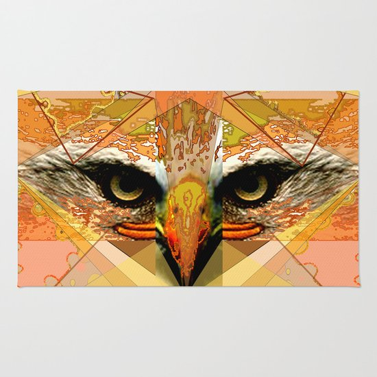Eagle Eyes Rug