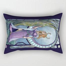 Empress of the Enchanted Evening Light Rectangular Pillow