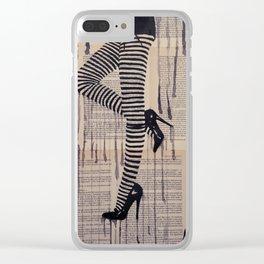 Strip trip Clear iPhone Case