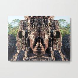 Smiley Face Metal Print