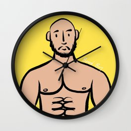 Beard Boy: Isreal Wall Clock