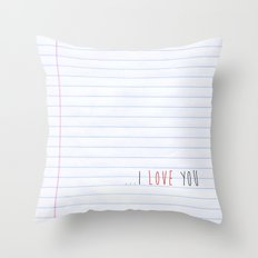 ...I Love you Throw Pillow