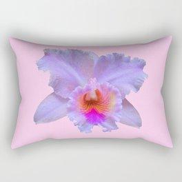 PINK ART TROPICAL CATTLEYA ORCHID FLOWER Rectangular Pillow