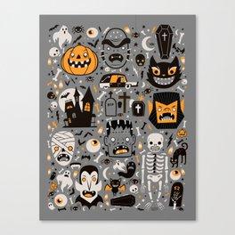 Halloween Spooktacular Canvas Print