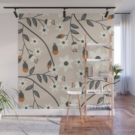 Spring blossoms Wall Mural