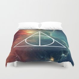Deathly Hallows Nebula HP Duvet Cover