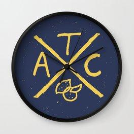 The Arcadia Club Wall Clock
