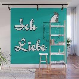 Ich Liebe Wall Mural