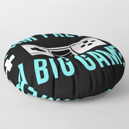 I am pretty a big gamer gift for console players Floor Pillow