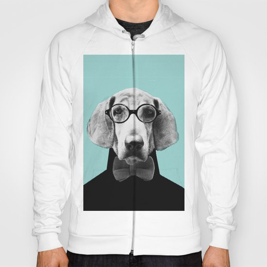 Mr Italian Bloodhound the Hipster Hoody