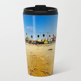 Santa Cruz Pier Travel Mug