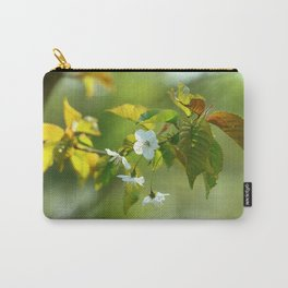 Delicate Spring Blossoms Carry-All Pouch