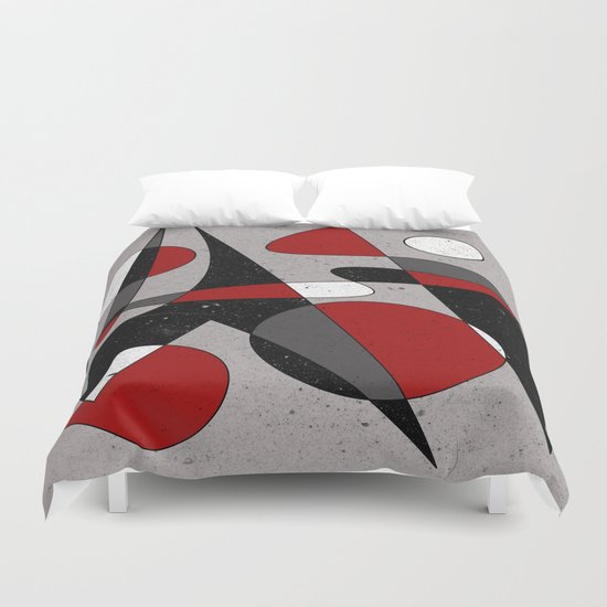 Abstract #106 Duvet Cover