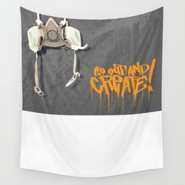 PSD Respirator GOAC! Wall Tapestry
