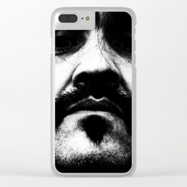 Don't Think Twice Clear iPhone Case