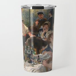 Auguste Renoir - Luncheon of the Boating Party (Le déjeuner des canotiers) Travel Mug