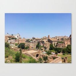 When In Rome II Canvas Print