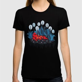 Smug red horse 3. T-shirt