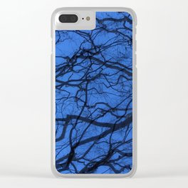 Entwined Branches Clear iPhone Case