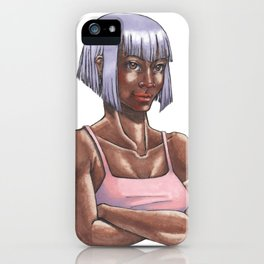 Modern Eponine Thenardier iPhone Case
