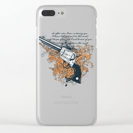The Revolver Clear iPhone Case