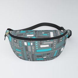 Turquoise Dream (Pattern) Fanny Pack