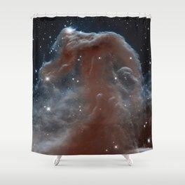 Horsehead Nebula Shower Curtain