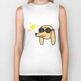 Blinded by the light Biker Tank
