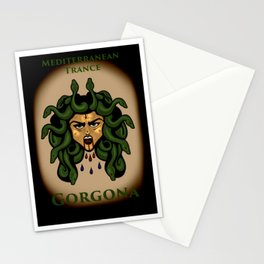 Gorgona: Mediterranean Trance Stationery Cards