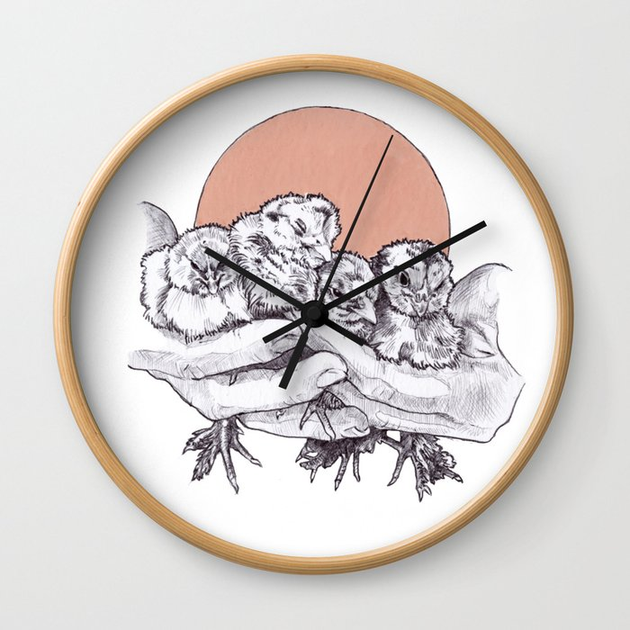 Hold What You Got Wall Clock
