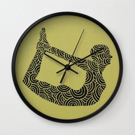 Dhanurasana Wall Clock