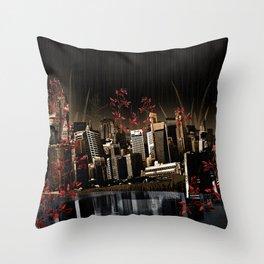 City Throw Pillow