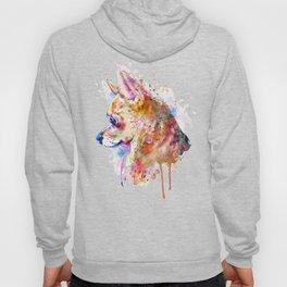 Watercolor Chihuahua Hoody