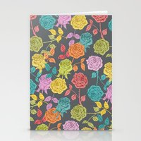 roses Stationery Cards featuring ROSES by Bianca Green