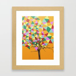 Treeangle Framed Art Print