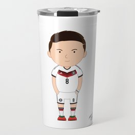 Mesut Ozil - Germany - World Cup 2014 Travel Mug