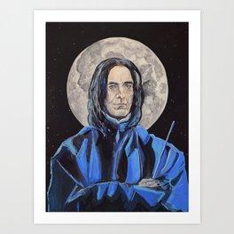 Snape/Alan Rickman Icon Art Print