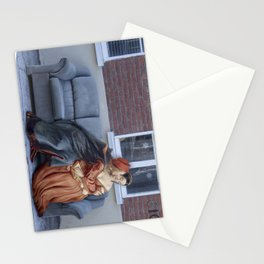 """""""Not now, Paolo."""" Stationery Cards"""